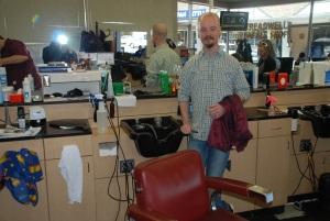 Matthew, my barber at Treadwell's